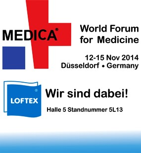 Medica, Messe, Loftex, Halle5, Standnummer 5L13