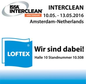 ISSA, Interclean, Amsterdam, Netherlands, Messe, Loftex, Halle 10, Standnummer 10.508