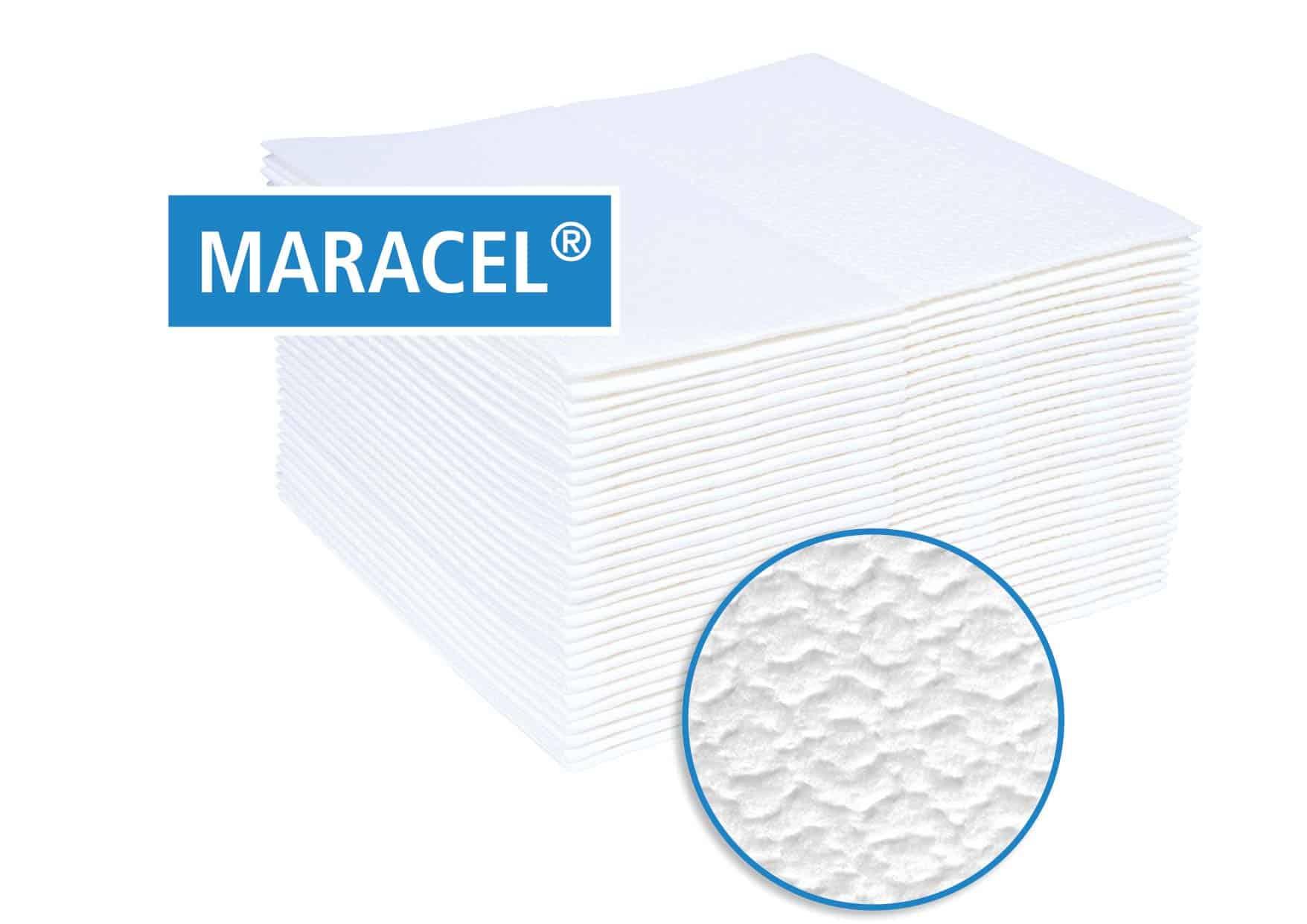 Maracel Wischtücher und Pflegetücher