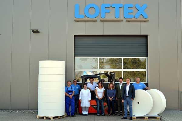 Die Mitarbeiter von LOFTEX
